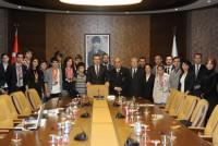 Gençlik ve Spor Bakanı Suat Kılıç'ı Ziyaretimiz