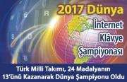 2017 Dünya İnternet Klavye Şampiyonası Sonuçlandı