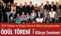 2014 Ödül Töreni ve F Klâvye Seminerimiz