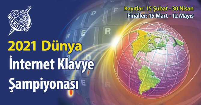 2021 Dünya İnternet Klavye Şampiyonasına DAVET